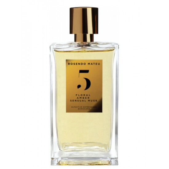 Rosendo Mateu Olfactive Expressions - N 5 Floral-Amber-Sensual-Musk for Unisex A+