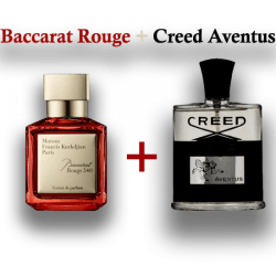 Creed Aventus + Baccart Rouge