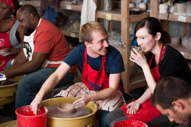 Image result for clay studio valentines day