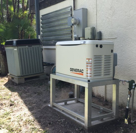GenerX Generac Generator Ready For Irma Hurricane