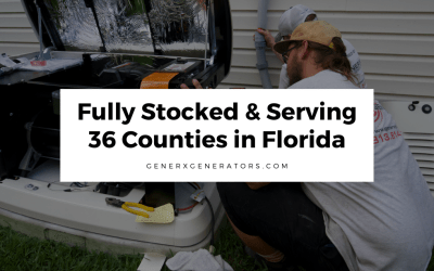 Fully Stocked & Serving 36 Counties in Florida