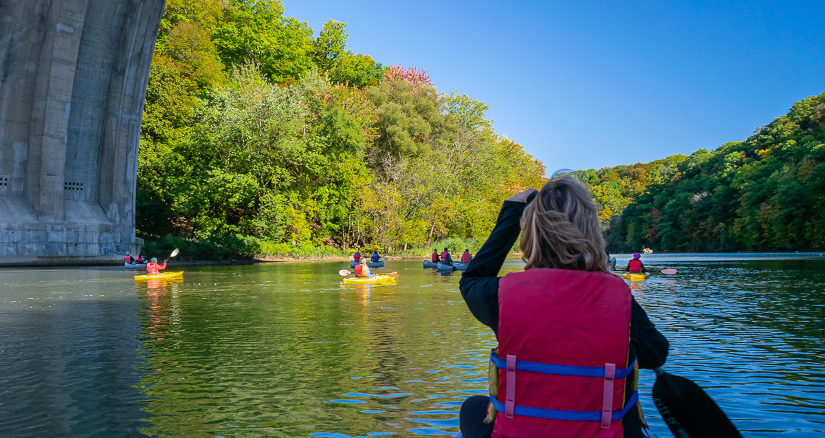 Paddle the Genesee on Roc the Riverway Weekend Oct 3rd & 4th