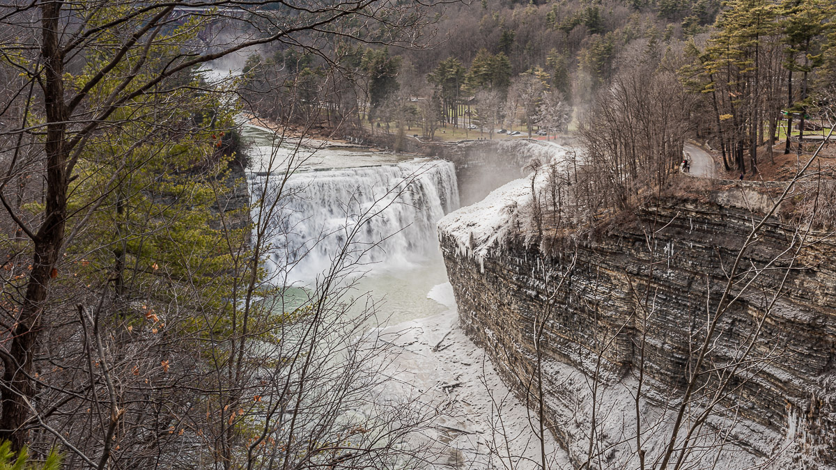 Hiking along the Genesee: Letchworth State Park - East Side
