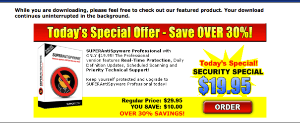 Super Antispyware discount offer