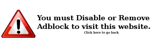 Disable ad block to visit this site
