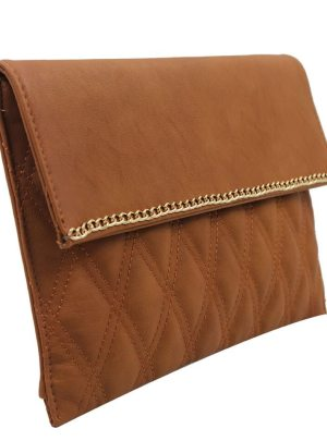 Beauty Clutch Bag (camel)