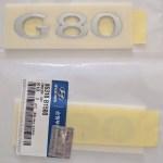 Official OEM G80 Badge