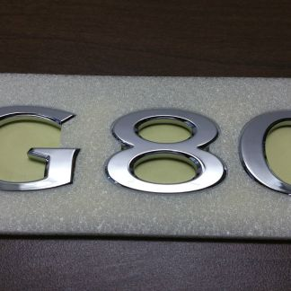 genesis g80 text badge