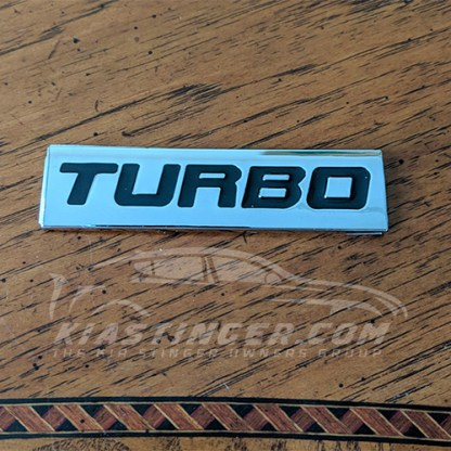turbo badge