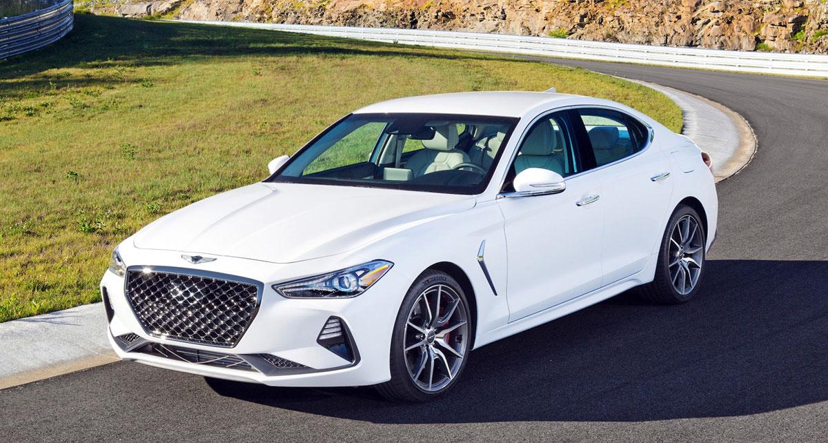 2019 genesis g70 car of the year
