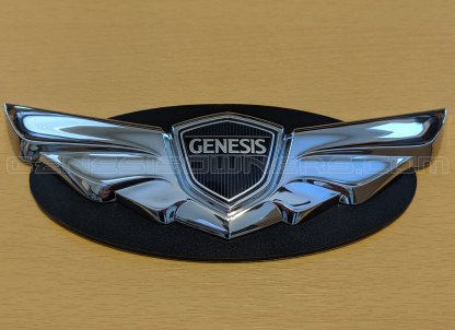 genesis coupe winged front rear emblem