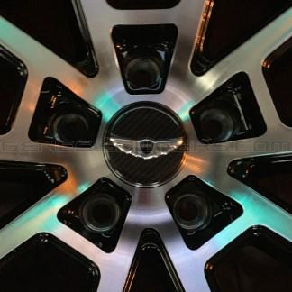 genesis winged wheel caps