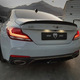 genuine M&S rear trunk spoiler for genesis g70