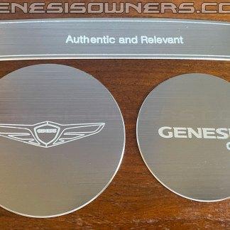 genesis g80 cup holder set