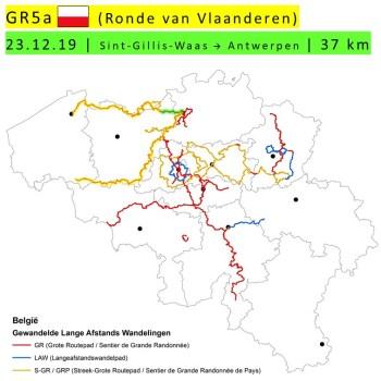 23-12-2019 – GR5a – Sint-Gillis-Waas → Antwerpen