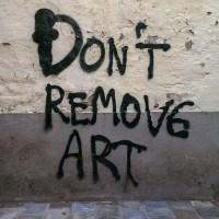 DON'T REMOVE ART