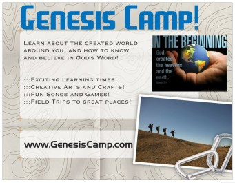 Genesis Camp Postcard