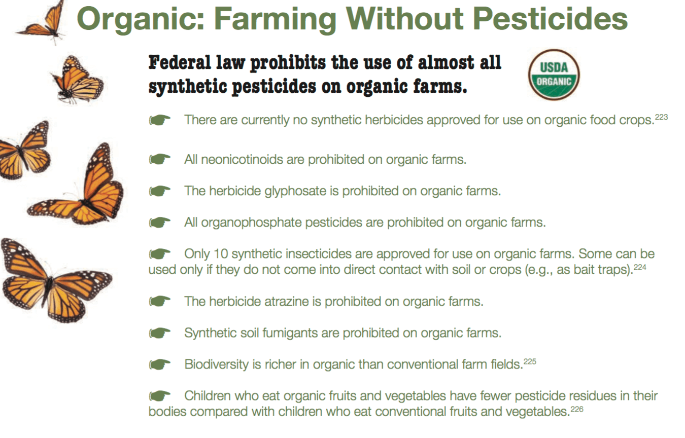 Myth Busting On Pesticides Despite Demonization Organic