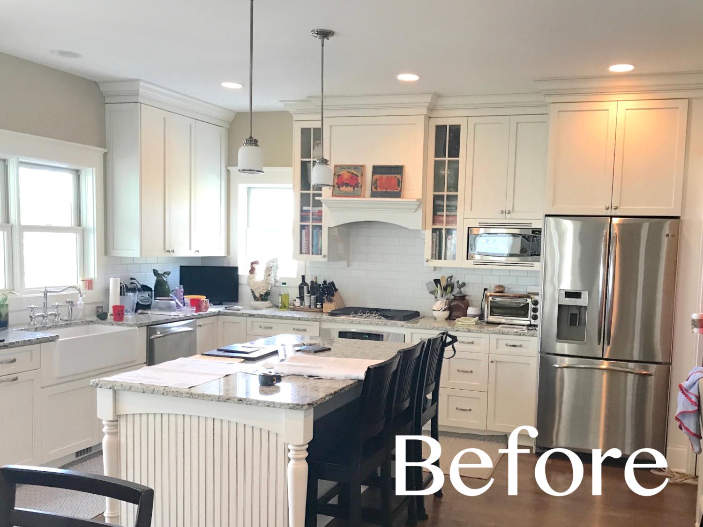 new kitchen island transforms the