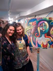 Alex is the wonderful Art Patron who won the bid. SOLD to one happy customer!