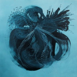 Heart of Matter - Painting by Genevieve Leavold