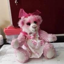 Honeydew bear kit - Mohair