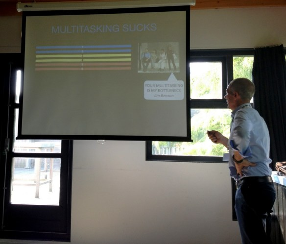 People as Bottlenecks presentation