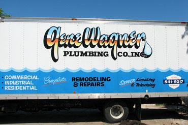 Gene Wagner Plumbing Truck