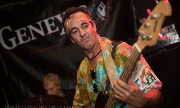 Jamie, bass guitar, Genexis - Joes Waterhole