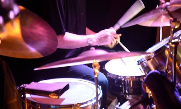 Pete, drummer, Genexis - Mooloolaba Surf Club