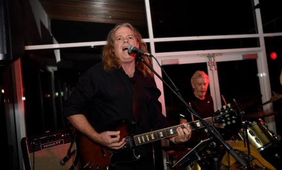 Gav, lead guitar, Genexis - Mooloolaba Surf Club