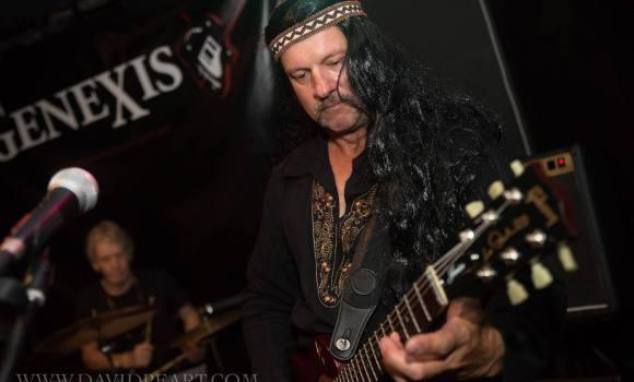 Nick, rhythm guitarist, Genexis - Joes Waterhole