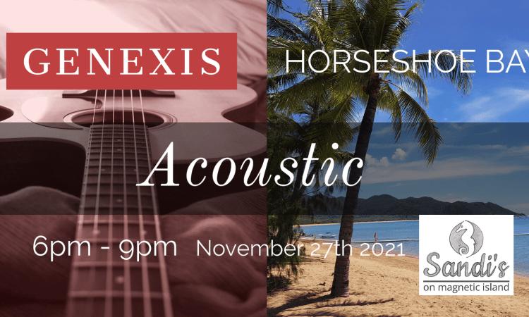 genexis live music horseshoe bay magnetic island