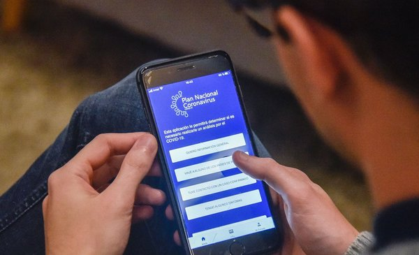 Digital Border Declaration 2020 in Coronavirus UY App