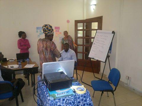 NEXTGEN coordinator Constant Akwensi Selase Visits KITA GEN Ghana Secretariat