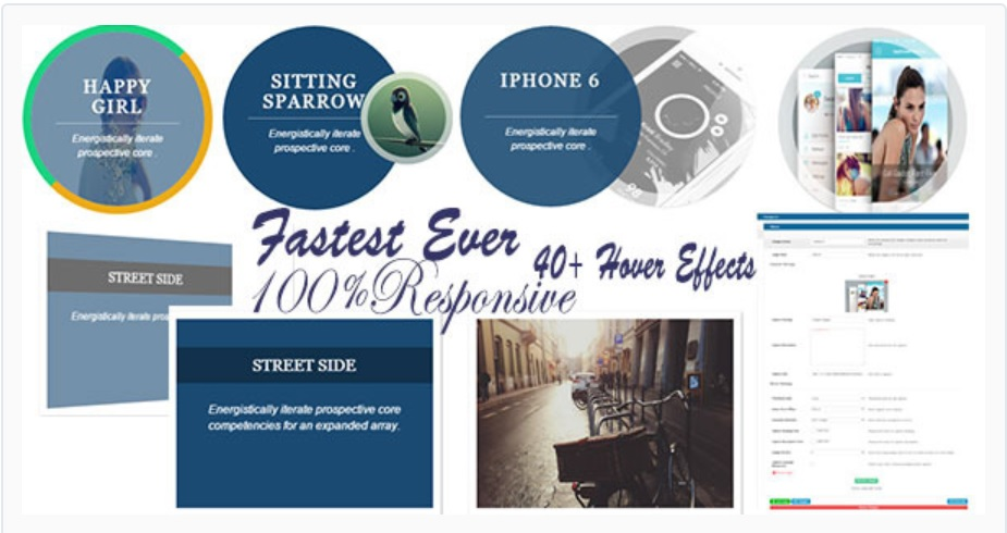 Image Hover Effects - WordPress Plugin