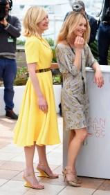Kirsten Dunst en robe Dior et Vanessa Paradis