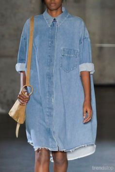 Oversized Shirt Dress by MM6 Maison Martin Margiela