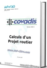 Formation covadis sur projets routiers