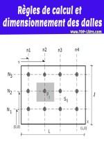 Règles de calcul et dimensionnement des dalles – pdf