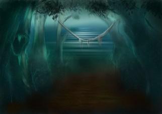 dark forest digital painting4