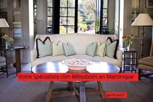 spécialiste clim Mitsubishi en Martinique