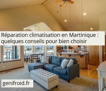 réparation climatisation en Martinique conseils pour bien choisir