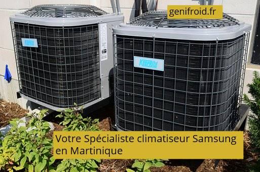votre spécialiste climatiseur Samsung en Martinique