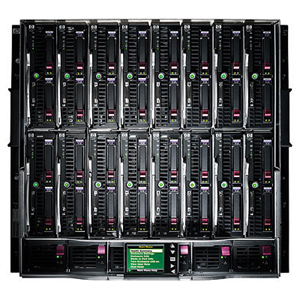 507019-B21 HP Blade Server Cabinet BLc7000 Rackmount Enclosure at Genisys