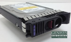 HP A9882A 146GB 10K U320 LP Disk Drive at Genisys