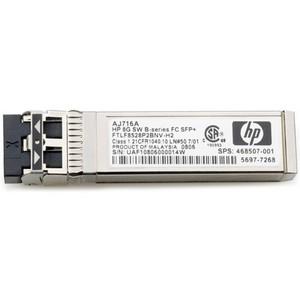 AJ716A HP 8Gb Shortwave B-series Fibre Channel 1 Pack SFP+ Transceiver 8 Gbps