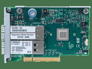649283-B21 HP InfiniBand QDR/EN 10Gb Dual Port 544FLR-QSFP Adapter