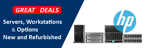 Great Deals on HP Servers and Processors