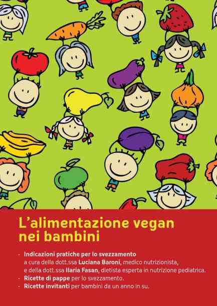 Opuscolo per svezzamento bambini vegan